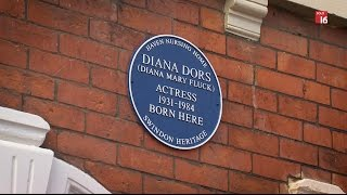 DIANA DORS BLUE PLAQUE UNVEIL - SWINDON HERITAGE (Public Edit)