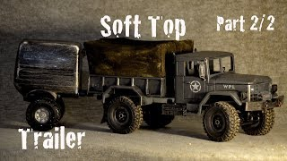 WPL B-1 almost EPIC rc Military truck modification  (Part 2/2)