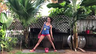 Backyard Bells - 20 minute Kettlebell Yoga Workout for Beginners