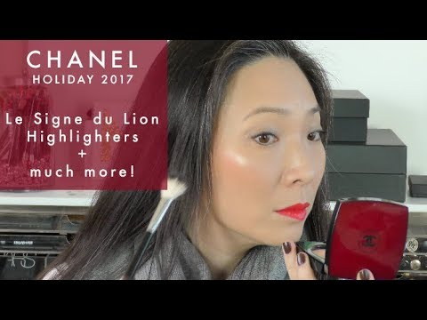 1d188b3847 CHANEL Holiday 2017 - Le Signe Du Lion Highlighters and more!