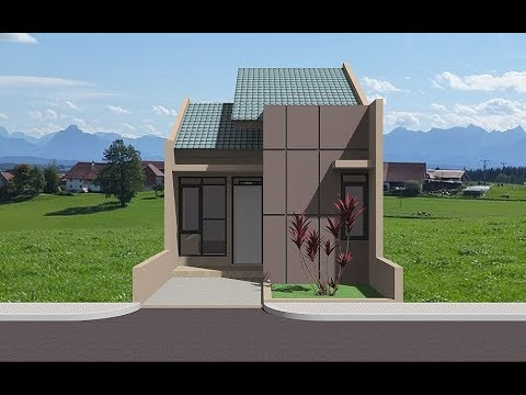 Rumah Minimalis Lahan 5 X 10 Meter - YouTube