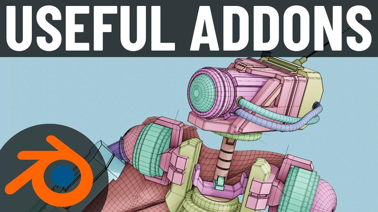Useful Addons for Blender 2.8