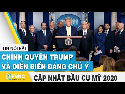 Bầu cử Mỹ 2020 ngày 05/12   Chính quyền Trump và diễn biến đáng chú ý   FBNC