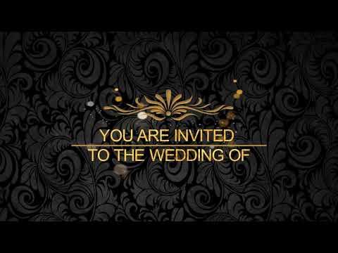 romantic-||-wedding-||-invitation-||-video