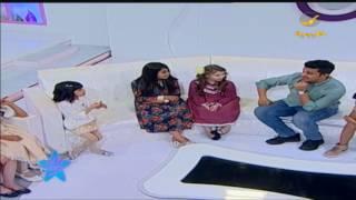 ميرال المطيري تسولف عن أبوها وأمها في صغار ستار مع فهد السعير