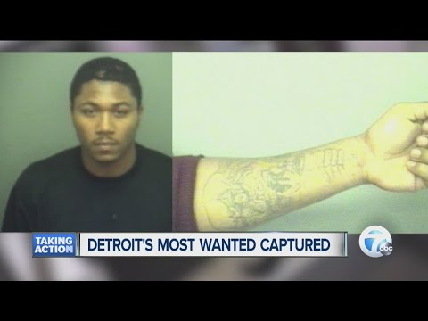 Detroit's Most Wanted Captured In Texas
