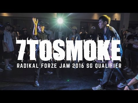 All-Styles 7ToSmoke | Radikal Forze Jam 2016 SG Qualifiers | RPProductions