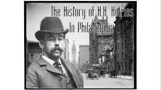 L'Histoire de H. H. Holmes, à Philadelphie.
