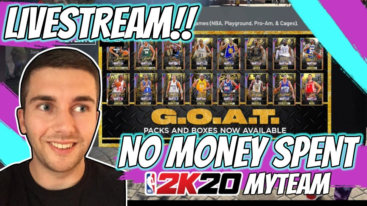 NBA 2K20 MYTEAM GOAT PACKS ARE COMING!! *9* NEW GOAT CARDS ADDED TO THE GAME!!