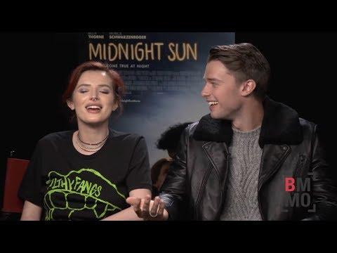 Bella Thorne & Patrick Schwarzenegger Interview - Midnight Sun