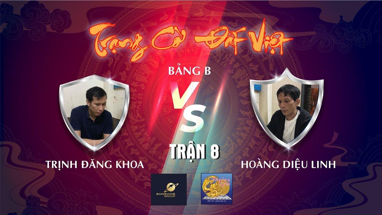 Trạng Cờ Đất Việt 2020 | Trịnh Đăng Khoa ( Kỳ Hữu ) vs Hoàng Văn Linh ( Tây Sơn ) |