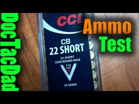CCI.22 CB Short Ammo Test