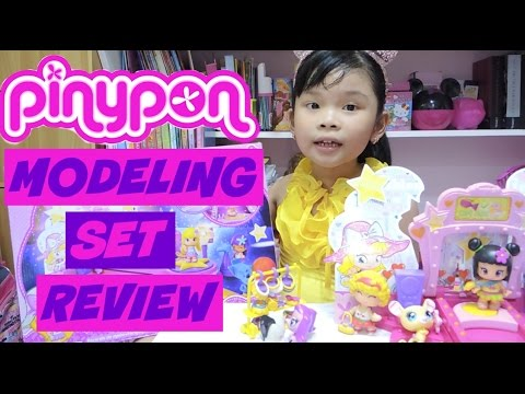 Pinypon Modeling Set Unboxing And Review | Keisha TV ♥️
