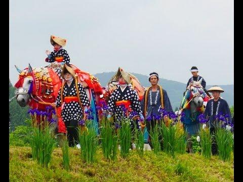 岩手県滝沢村「チャグチャグ馬コ」The horses parade (Chagu Chagu Umakko Festival )