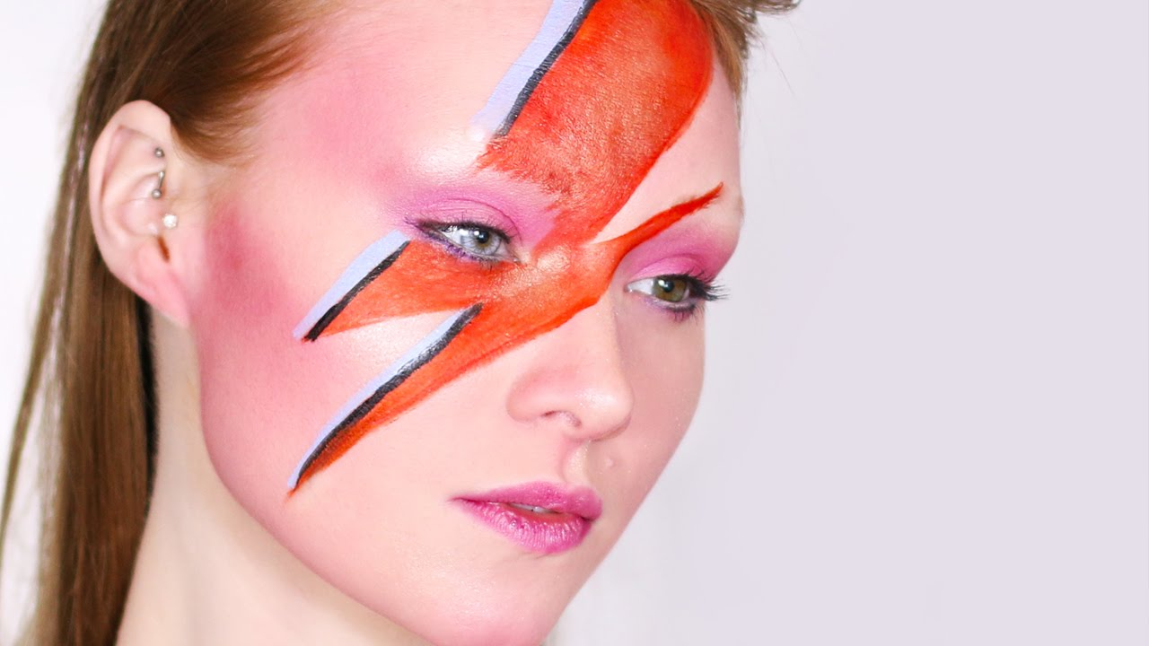 David Bowie/Aladdin Sane Tribute Makeup Tutorial
