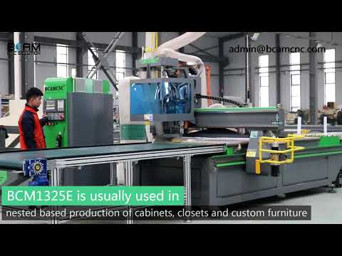 Automatic Loading and Unloading System CNC Router Machine ...