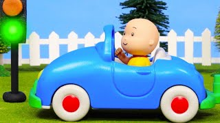 Caillou and Driving | Caillou Cartoon