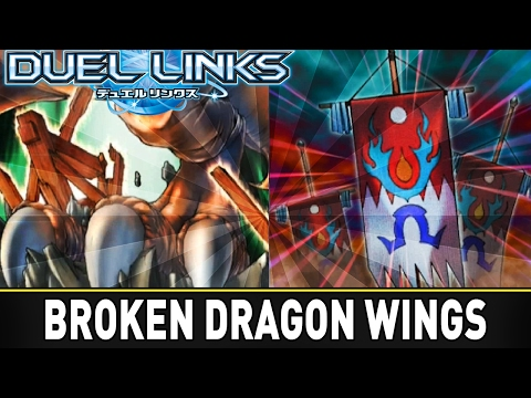Broken Wings Platinum Ranked GamePlay! | YuGiOh Duel Links Mobile w/ ShadyPenguinn