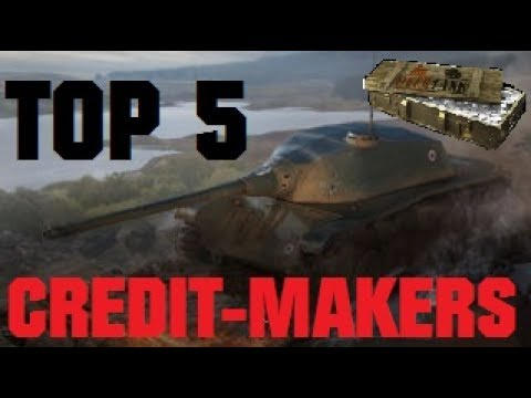 Top 5 Tier 8 Premium Tanks for Credit-Making (Patch 9.18) [World of Tanks / WoT]