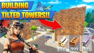REBUILDING TILTED TOWERS!! - New Playground Mode (Fortnite Battle Royale)