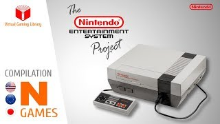 The NES / Nintendo Entertainment System Project - Compilation N - All NES Games (US/EU/JP)