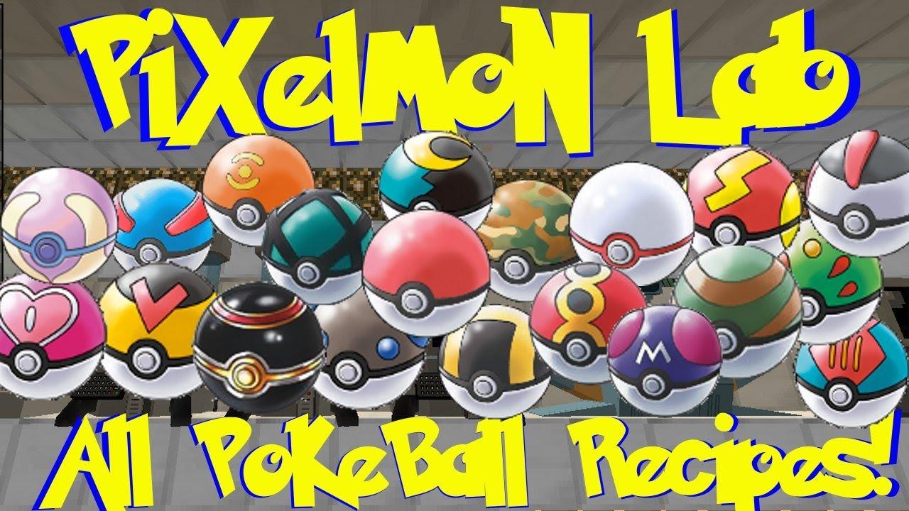 HOW TO MAKE REAL POKE BALLS PIXELMON