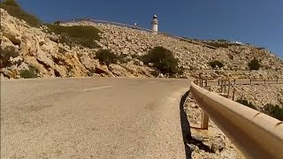 New 60 Minute Cycling Trainer Workout Majorca Cap Formentor Full HD