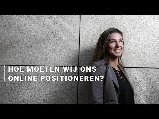 Carola Rodrigues - Hoe moeten wij ons online positioneren?