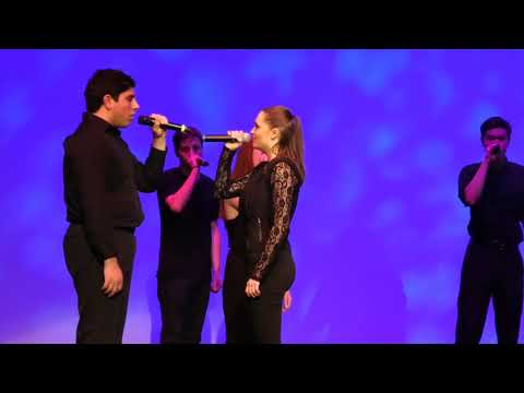 Rach On The Radio - South Jersey A Capella Group Stuns Audience With Their Version of 'Shallow'