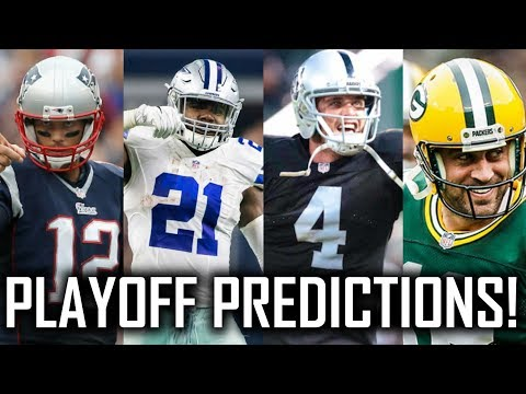2017-18 NFL Playoff Predictions! Super Bowl 52, AFC Championship, NFC Championship, and More!