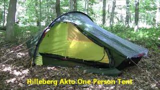 Hilleberg Akto - One Person Tent