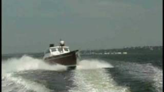 Fast Powerboat fuel efficiency