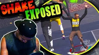 SHAKEDOWN EXPOSED! Posterized? 👀 - NBA 2K18 Park