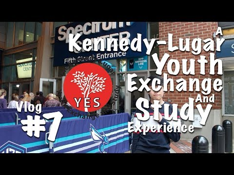 """My First NBA Game, Diversity Field Trip!"" - Malaysian KL-YES Student Exchange Experience, Vlog #7"