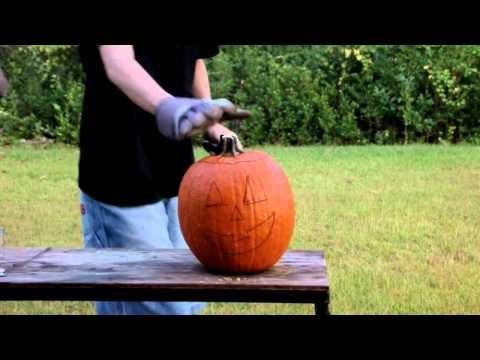 Halloween Special - Exploding (or Self-Carving) Pumpkin