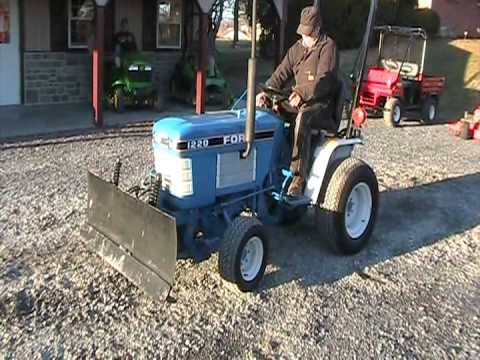 ford 1220 youtube 1993 Ford Tractor ford 1220