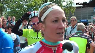 Allgäu Triathlon 2017: Daniela Ryf (1. Platz) im Interview