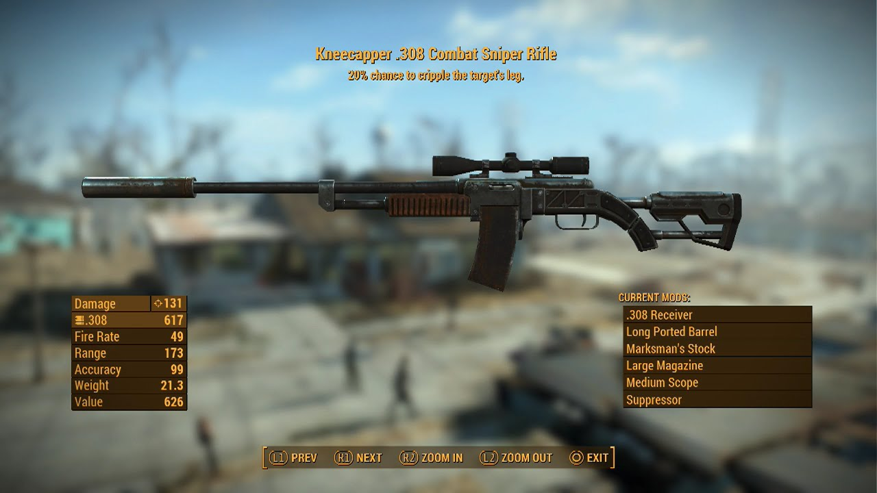 how to get any legendary weapon in fallout 4