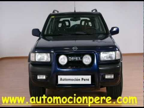 opel frontera 2 2 dti 16v 4x4 rs sport vendido por automocionpere youtube. Black Bedroom Furniture Sets. Home Design Ideas