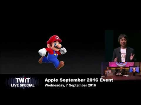 TWiT Live Specials 302: Apple iPhone 7 Announcement