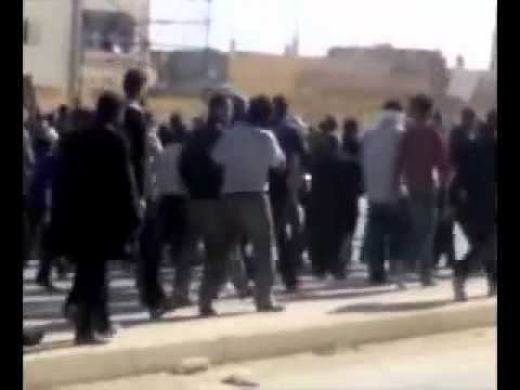 protest in the town of ejdabya in libya 17.02.2011.mp4