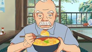 ひたすら親子丼を食べるループアニメ