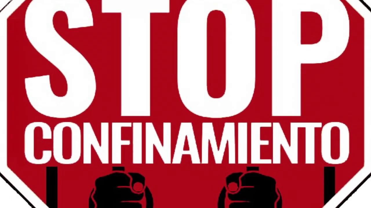 Stop Confinamiento España - Manifiesto