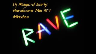 Dj Magic-d Early Rave Mix 157 Minutes!
