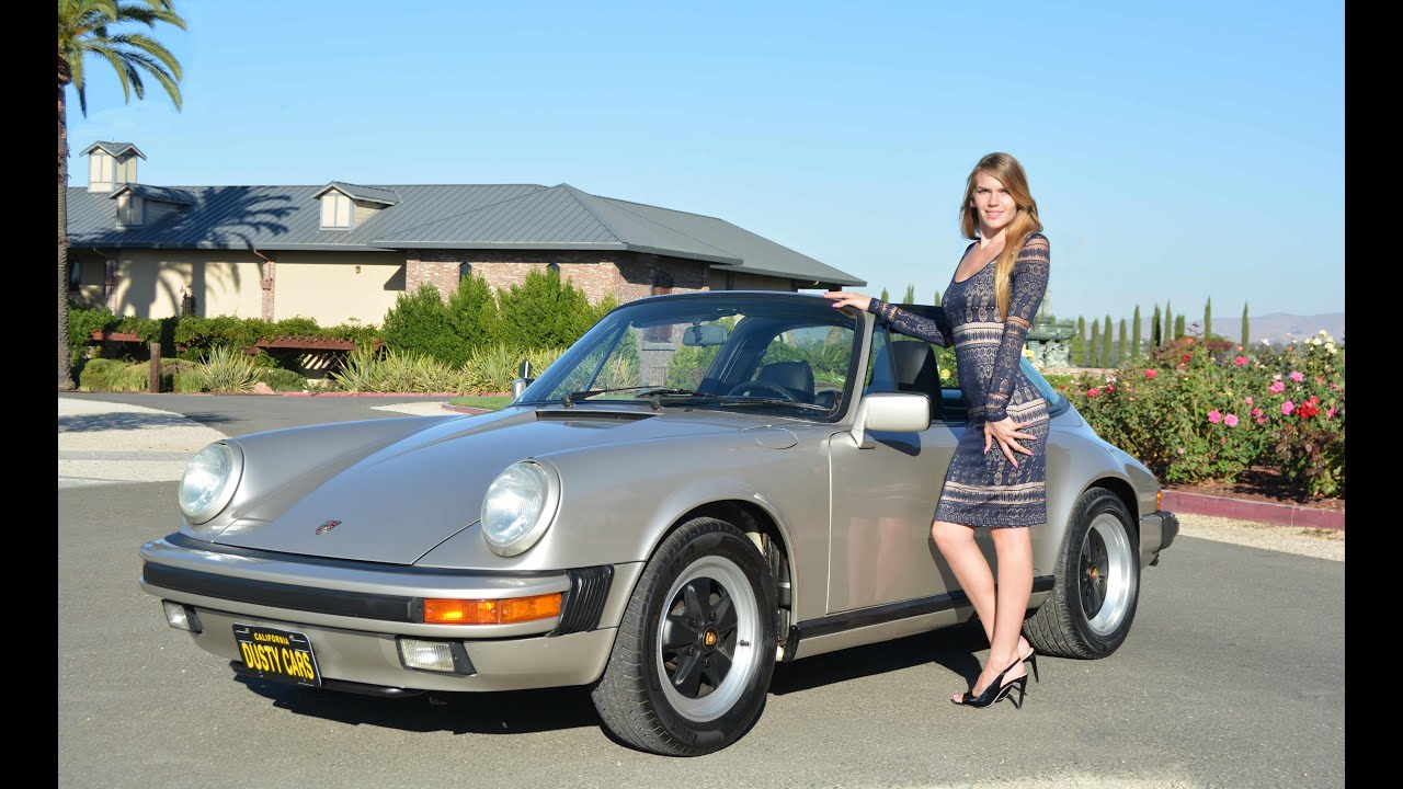 1989 Porsche 911 Carrera Targa Linen Grey Youtube
