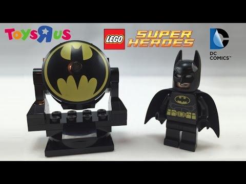 LEGO Batman Bat Signal Review (Free Toys