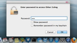 Video about how to create password protected secret folders on Mac ...