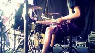Sadetanssi drumcam @ Dark River Festival 2012