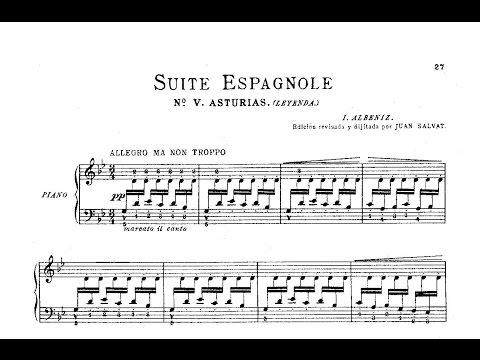 Asturias Suite española, V  Albéniz