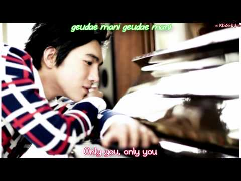 Kim Jong Wook - Only You [Eng | Rom]